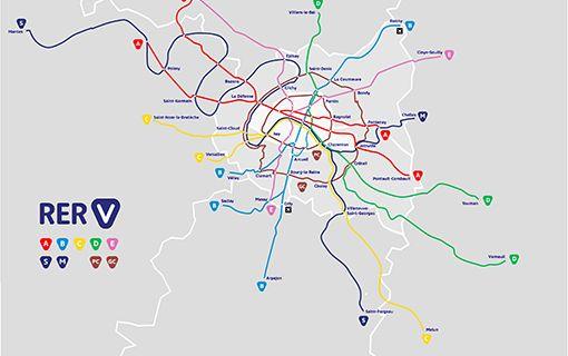 Ville De Montreuil Communique Pistes Cyclables Marquage De Nos Pistes Cyclables En Reseau Rer V